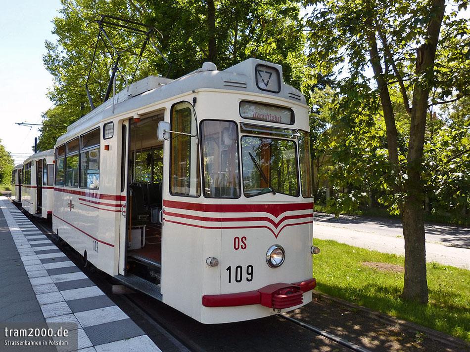 Gothawagen 109 in Potsdam