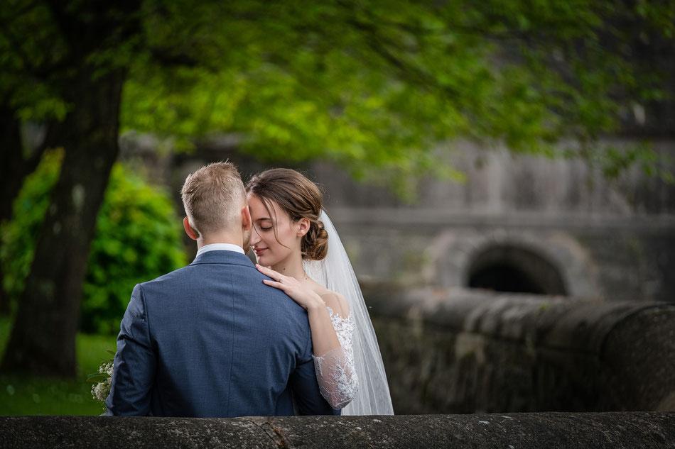 Hochzeitsfoto Staumauer Diemeltalsperre Hochzeitsfotograf