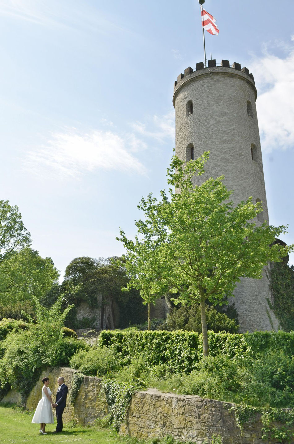 Heiraten auf der Sparrenburg
