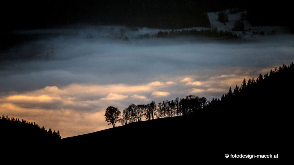 Malleistenalm - Sonnenuntergang