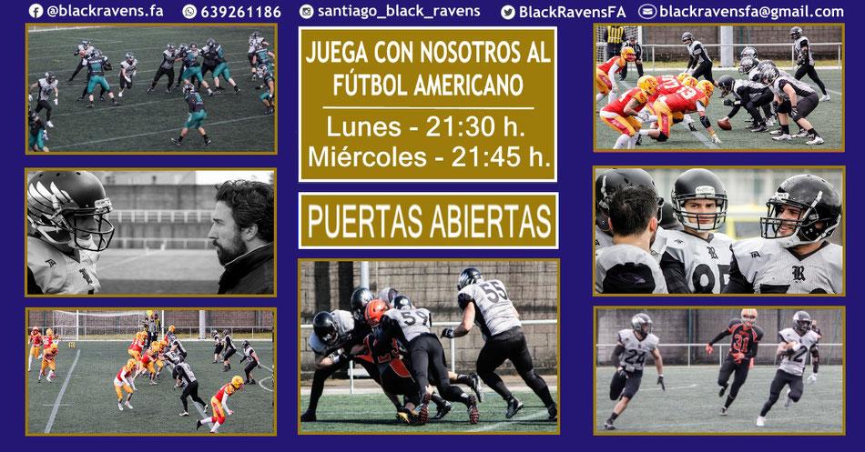 Recruiting Santiago Black Ravens - Jornada puertas abiertas