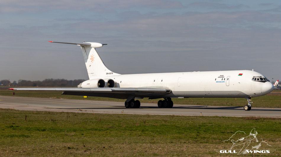 c/n 4546257 | EW-450TR | Rada Airlines | Ilyushin Il-62MGr | Maastricht - Aachen (MST - EHBK)