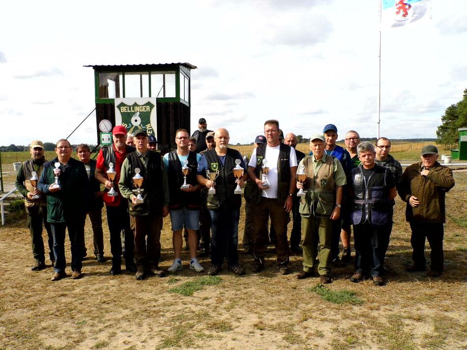 Teilnehmer des 3. Bellinger Rollhasen Pokal am 16.09.2018