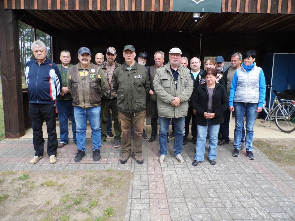 Teilnehmer der Vereinsmeisterschaft KK Lang- und Kurzwaffe am 27.04.2019