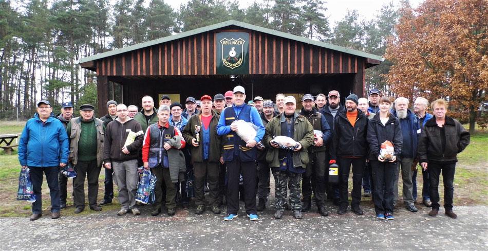 Teilnehmer des 19. Gänseschießen 2019 beim Bellinger Schützenverein e.V.