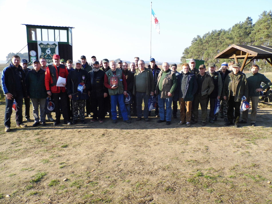 Teilnehmer des 18. Gänseschießen 2018 beim Bellinger Schützenverein e.V.