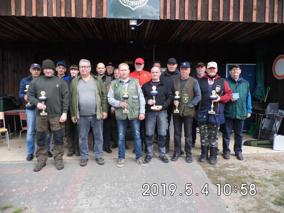 Teilnehmer des 23. Bellinger Maipokal am 04.05.2019