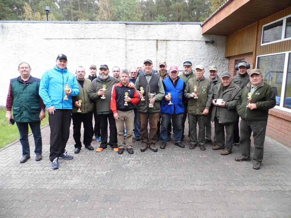 Teilnehmer des 2. Bellinger Rollhasen Pokal am 01.10.2017