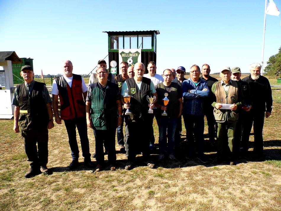 Teilnehmer des 4. Bellinger Rollhasen Pokal am 16.09.2019
