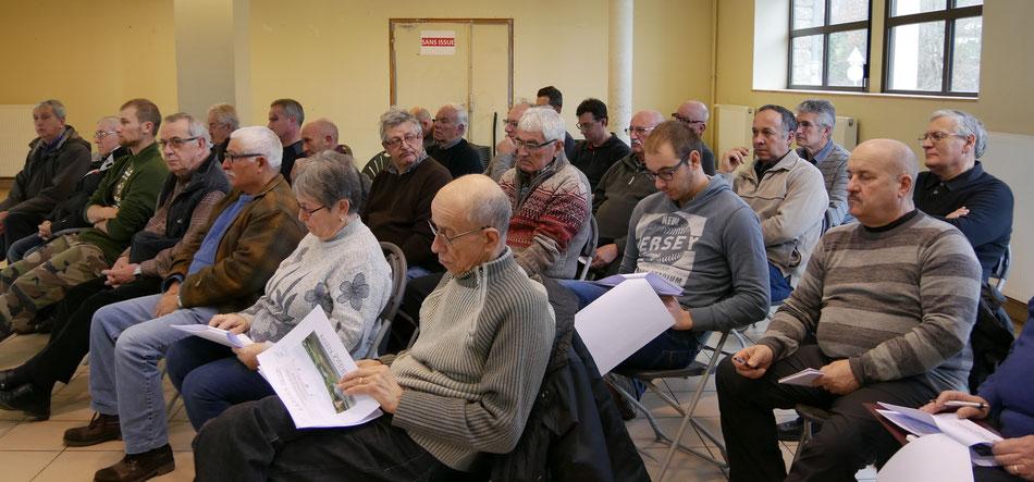 Participants à l'Assemblée Générale