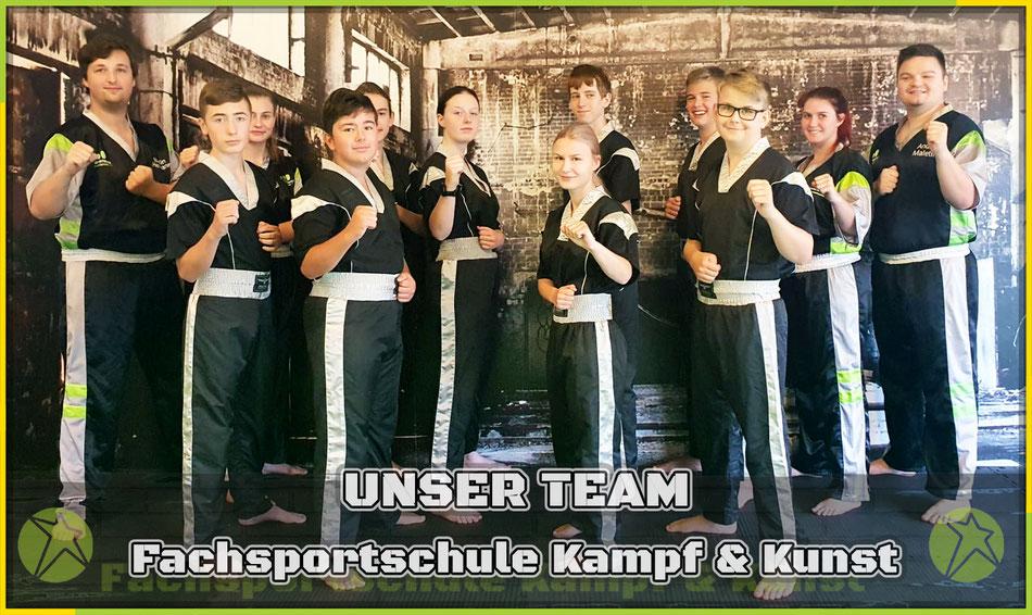 Unser TEAM der Kampfsportschule Kampf & Kunst in Friesyothe - NEU 2020