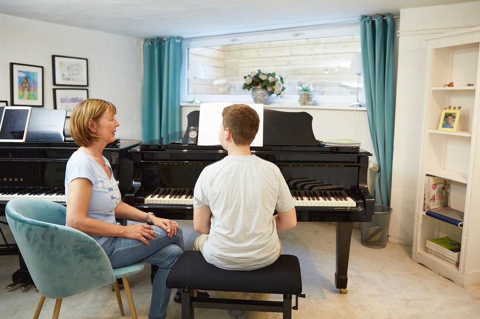 Klavierunterricht in Hamburg-Langenhorn, Finger