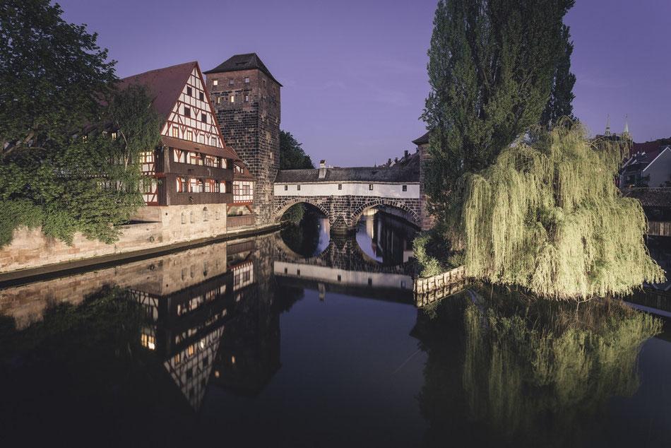 Nürnberg - Weinstadel (Copyright Martin Schmidt, Fotograf für Schwarz-Weiß Fine-Art Architektur- und Landschaftsfotografie aus Nürnberg)