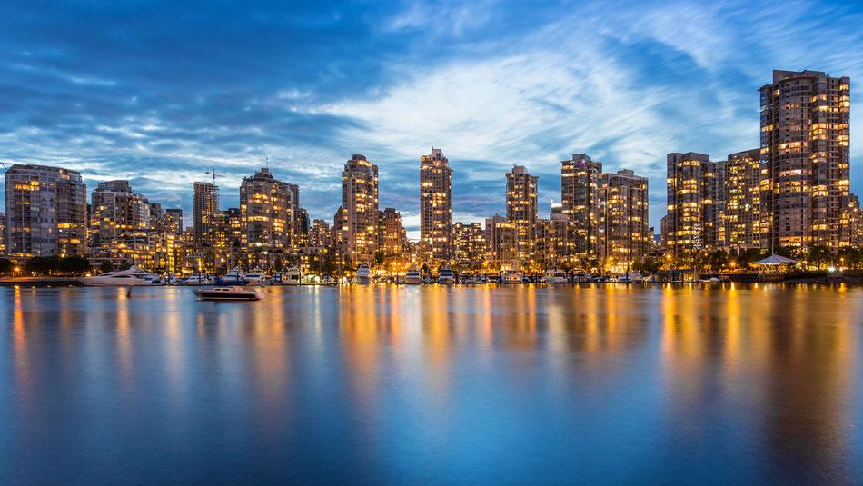 Vancouver Skyline :: Copyright Martin Schmidt, Fotograf für Schwarz-Weiß Fine-Art Architektur- und Landschaftsfotografie aus Nürnberg