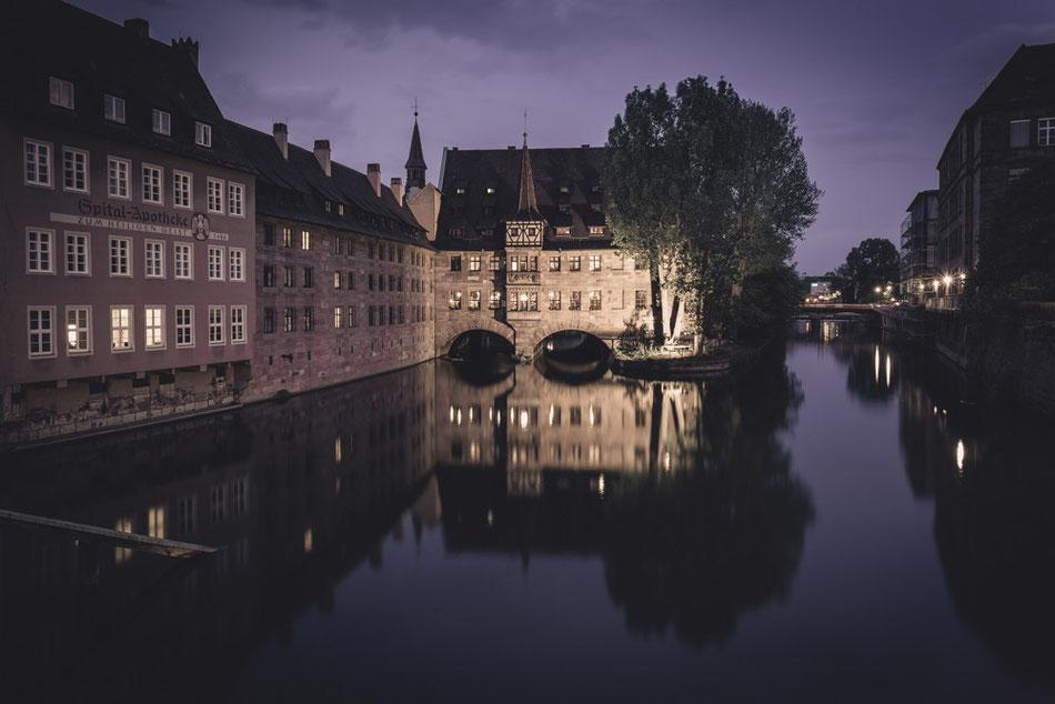 Nürnberg - Heilig-Geist-Spital (Copyright Martin Schmidt, Fotograf für Schwarz-Weiß Fine-Art Architektur- und Landschaftsfotografie aus Nürnberg)