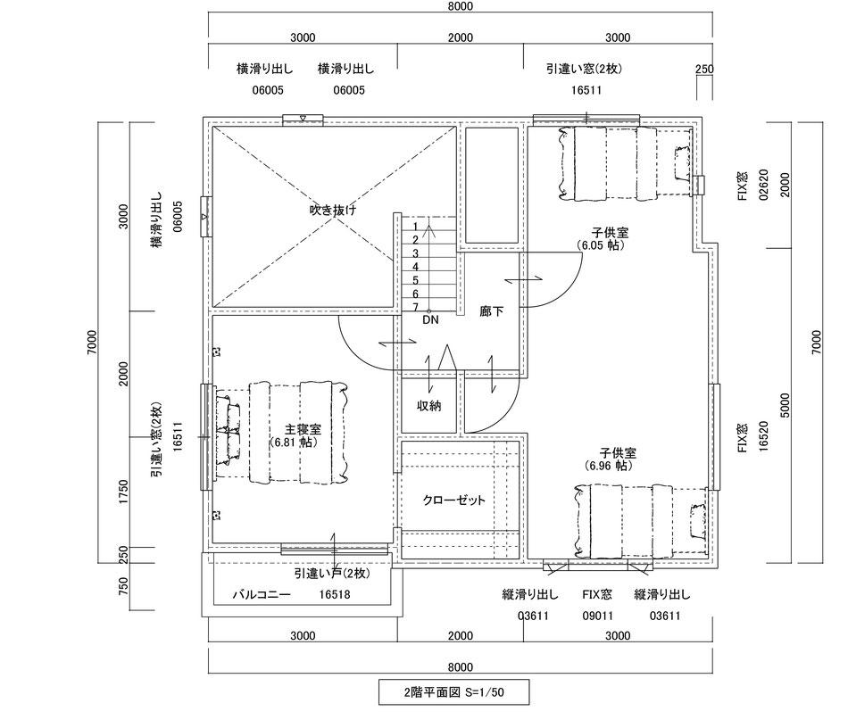2F平⾯図