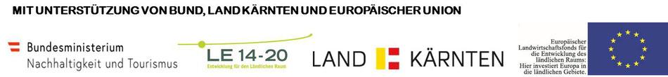 Mit Unterstützung von Bund, Land Kärnten und Europäischer Union