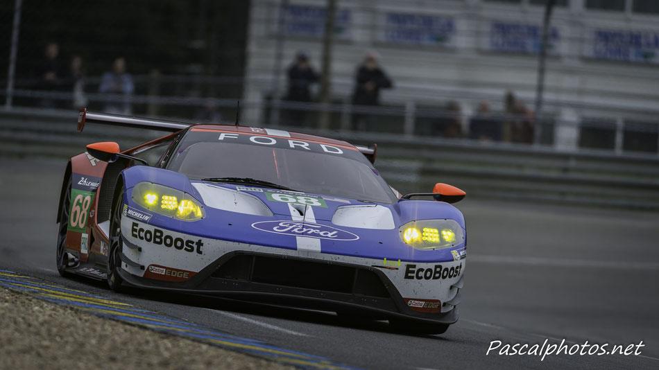 Ford GT , 24 heures du mans , journée test