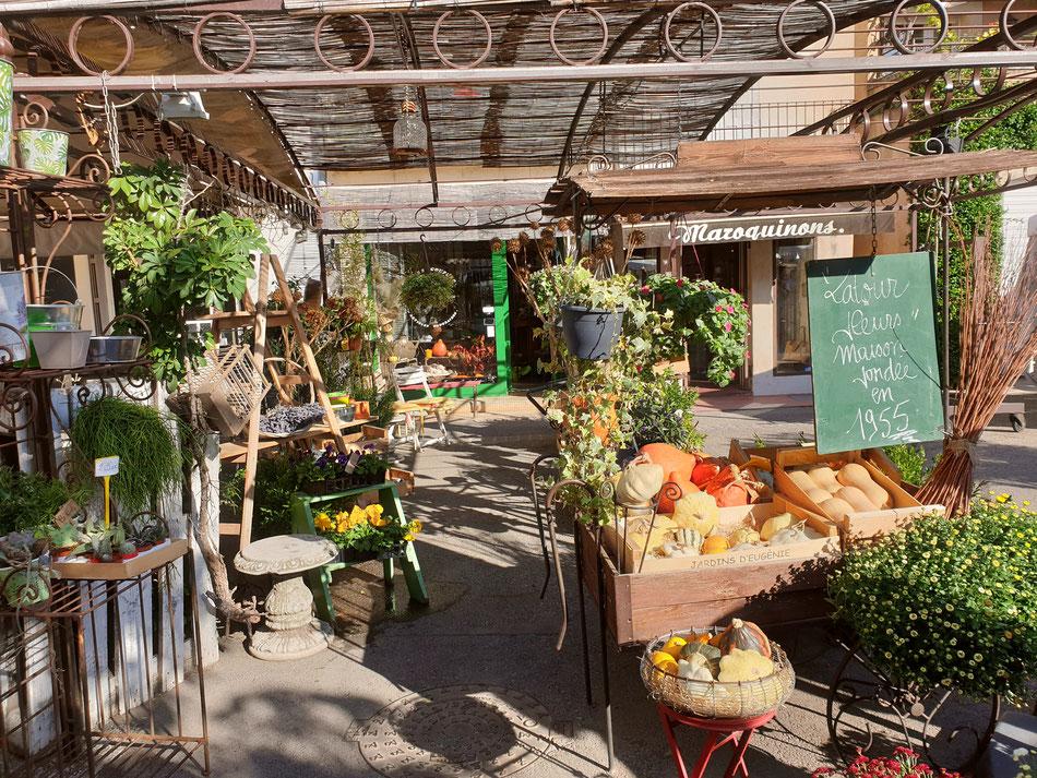 mit dem Wohnmobil nach Südfrankreich Provence Bauernmarkt in L'Isle sur la Sorgue