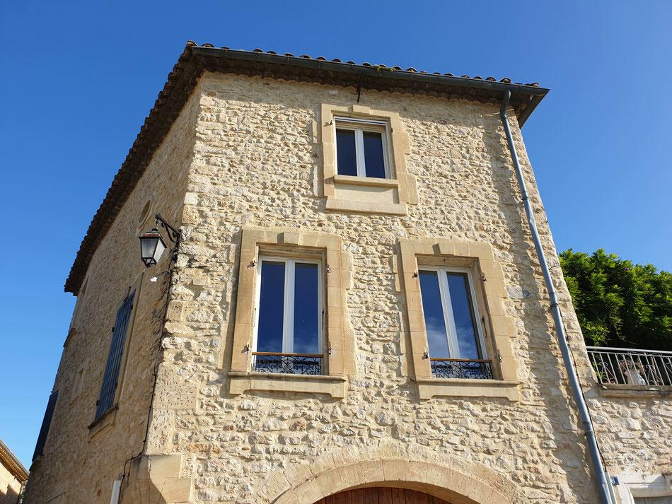 Chusclan Südfrankreich mit dem Wohnmobil Provence