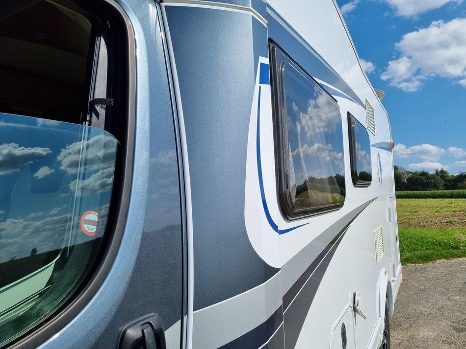 Wohnmobil Knaus Sky Wave 650 MG Außenansicht