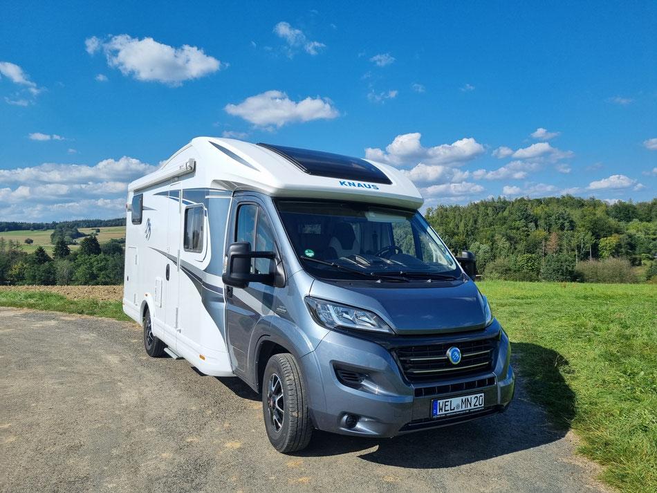 Wohnmobil Knaus Sky Wave 650 MG Fertig für den Urlaub