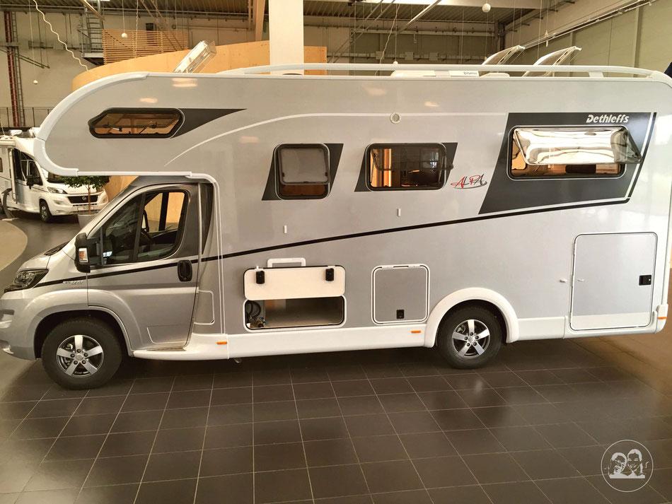 Wohnmobile Aufbautypen Leni und Toni erklären Aufbautypen bei Reisemobilen Kastenwagen teilintegrierte integrierte und Alkoven hier Alkoven