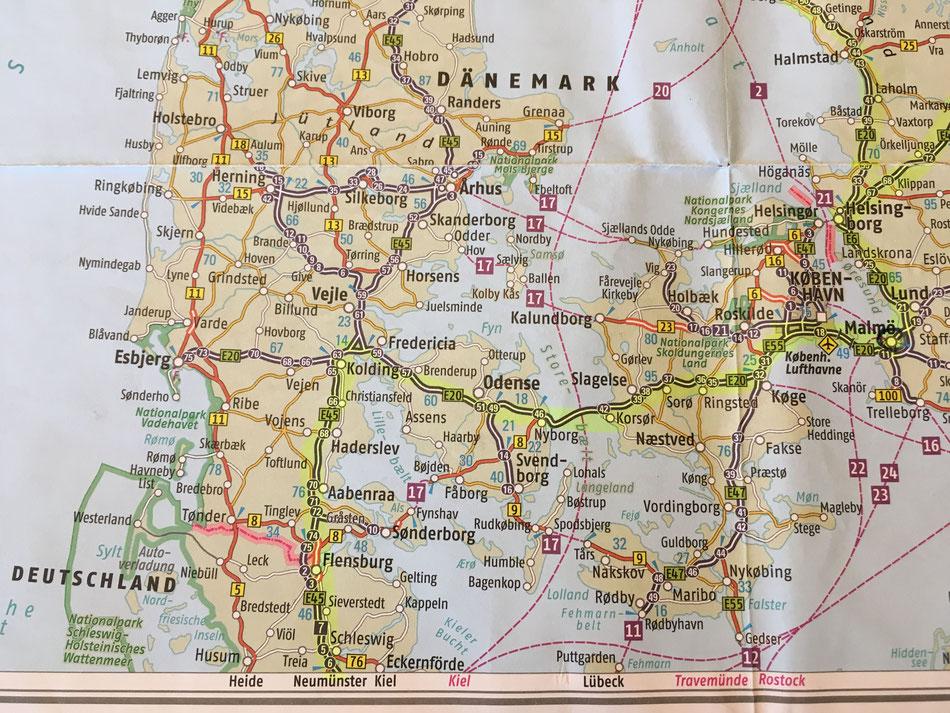 Karte Schweden Dänemark Deutschland.Norwegen Mit Dem Wohnmobil Unsere Route Bis Zum Nordkapp Leni