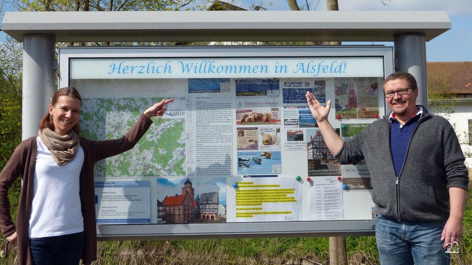 Besuch in Alsfeld Leni und Toni in Alsfeld Reisetipp Ausflug in Hessen mit Wohnmobil nach Alsfeld