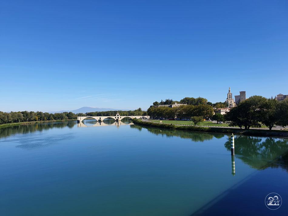 Sehenswürdigkeiten in Avignon Städtetour nach Avignon Leni und Toni mit dem Wohnmobil in Avignon Provence