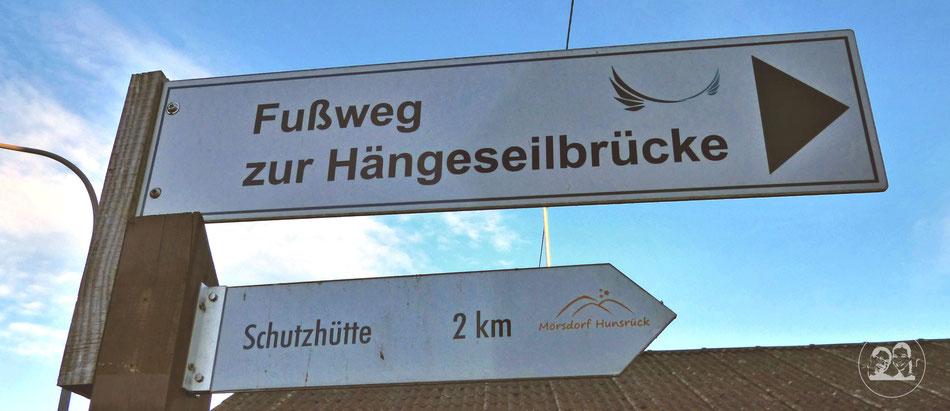 Ausflug Tour zur Geierlay schönste Hängeseilbrücke in Deutschland Leni und Toni machen einen Ausflug