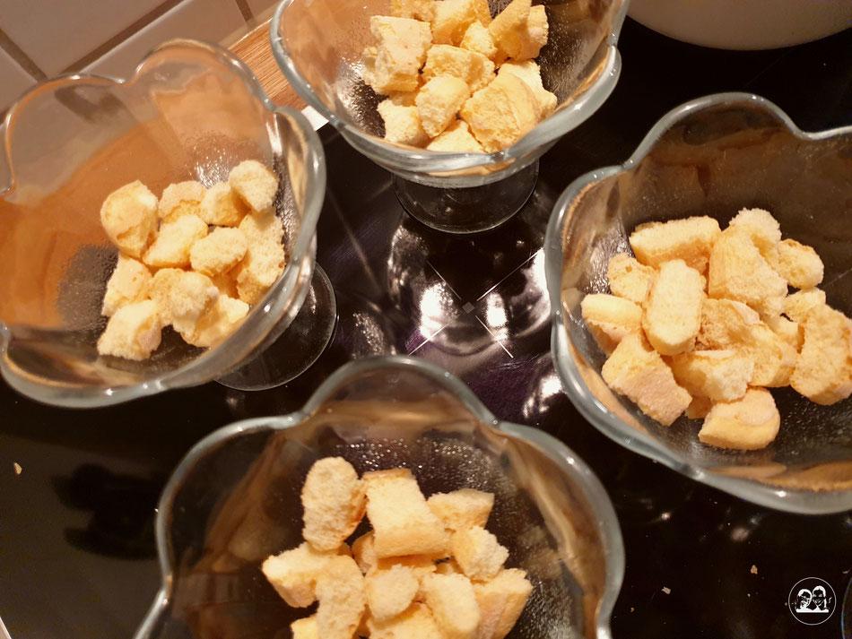 Orangentiramisu schneller und leckerer Nachtisch von Leni und Toni Dessert Nachspeise einfach kochen