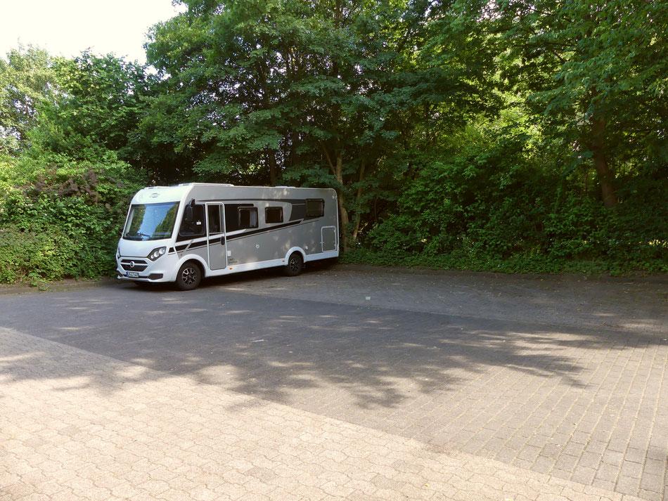 Leni und Toni Reisebericht mit dem Wohnmobil an der Ostseeküste in Deutschland unterwegs