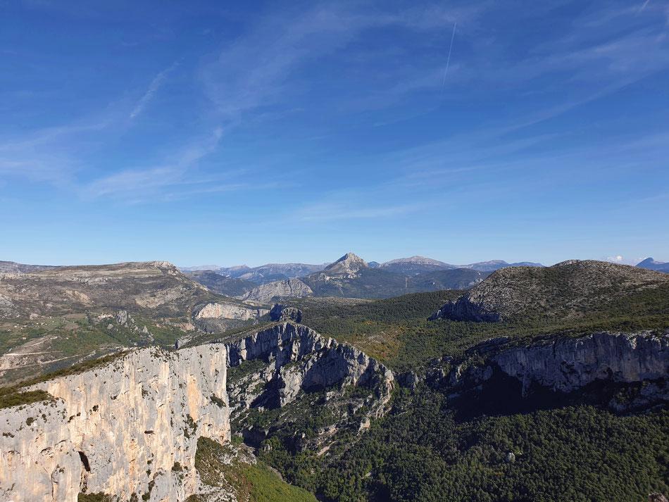 mit dem Wohnmobil nach Südfrankreich Provence Verdonschlucht mit dem Wohnmobil