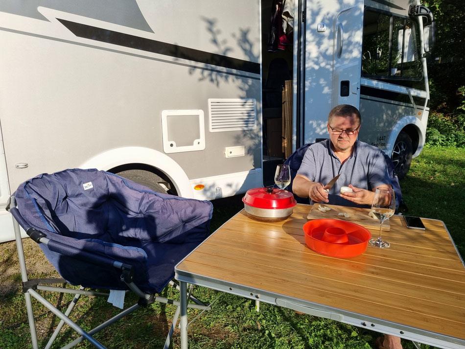 Kochen im Campingurlaub