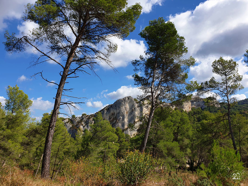 Glanum Leni und Toni mit dem Wohnmobil in der Provence Sudfrankreich Lac du peiroou Triumphbogen Glanum