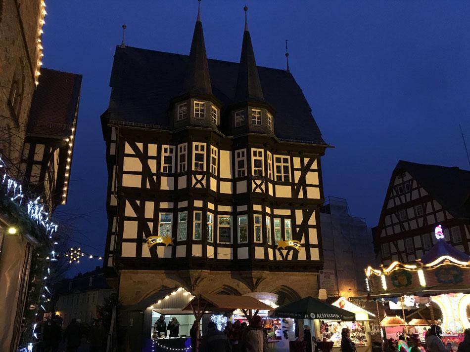 Besuch mit dem Wohnmobil in Alsfeld Weihnachtsamrkt mit Leni und Toni in Alsfeld erleben