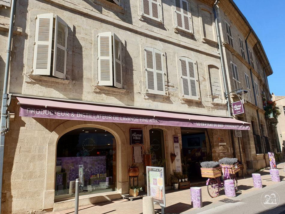 mit dem Wohnmobil nach Südfrankreich Altstadt von Avignon Lavendel Provence