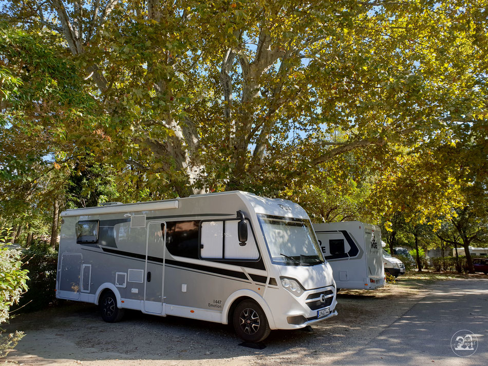 mit dem Wohnmobil nach Avignon Leni und Toni mit dem Wohnmobil in die Provence