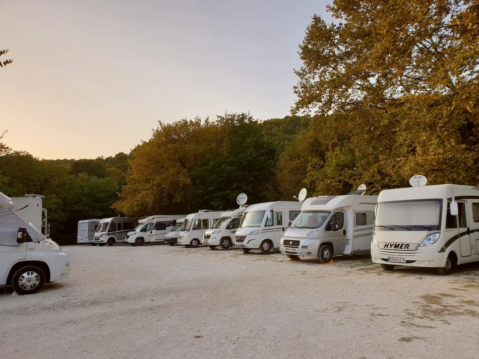 Wohnmobil Stellplatz Provence Südfrankreich