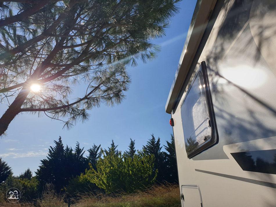 mit dem Wohnmobil nach Südfrankreich Provence Mont Ventoux