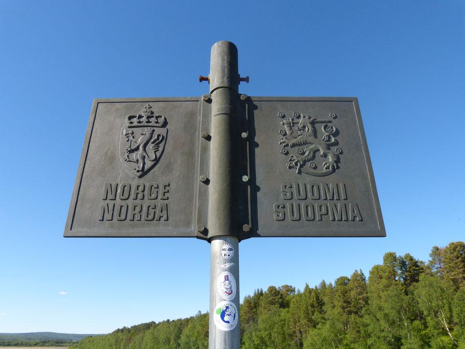 Grenzübergang Norwegen Finnland Einreisebestimmungen mit Hund