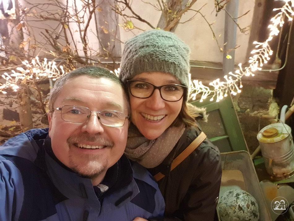 Leni und Toni zu Besuch in Alsfeld Weihnachtsmarkt und Sehenswürdigkeiten