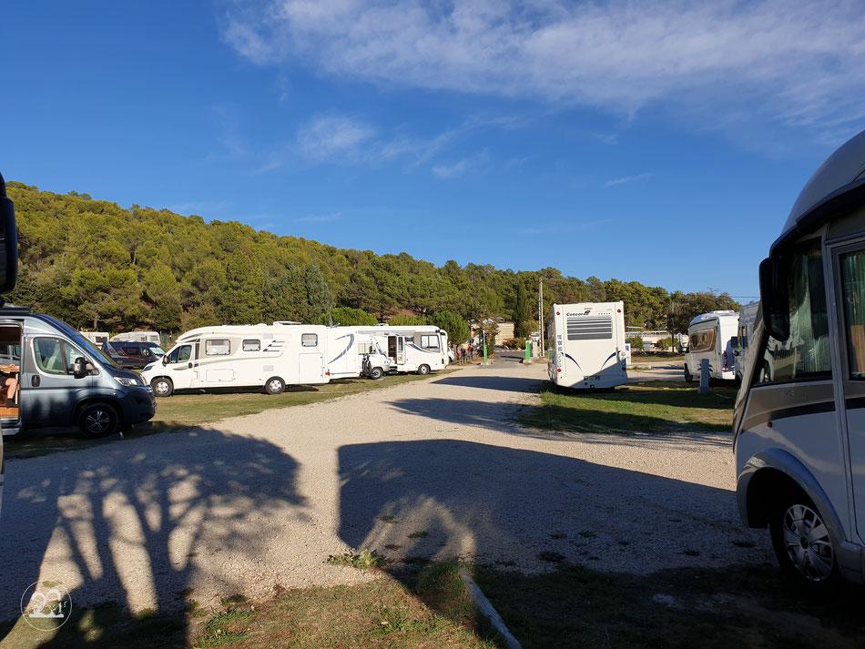 Mont Ventoux Bedoin Wohnmobil Stellplatz Leni und Toni in der Provence