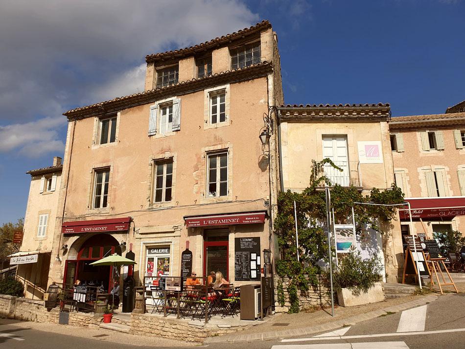 mit dem Wohnmobil nach Südfrankreich Provence Gordes