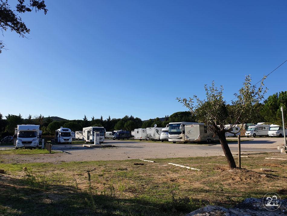 mit dem Wohnmobil nach Südfrankreich Bedoin Mont Ventoux Provence