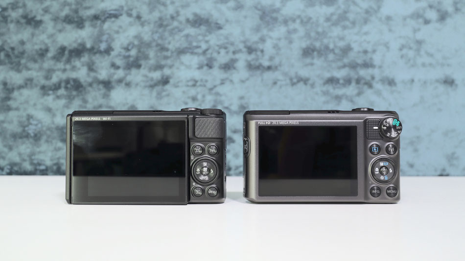 rear view SX740 left and SX720 right