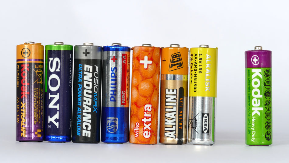 The Alkaline Batteries and Zinc Chloride benchmark