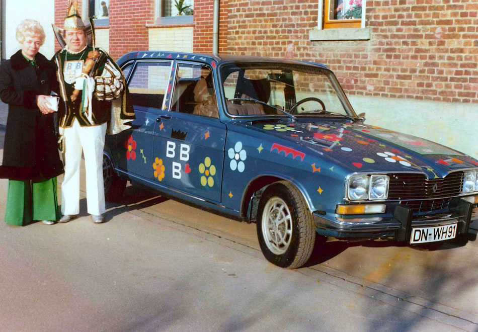 """Der zweite Prinzenwagen des Autohauses Wunsch für eine amtierende Birgeler Tollität, Prinz Eduard I. Diedrich, genannt """"Wum"""""""