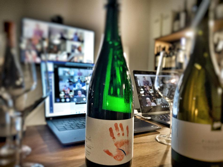 Online Weinprobe live